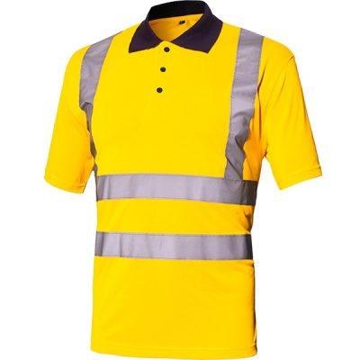 Polo AV Starter Básico amarillo
