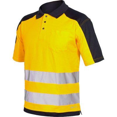 Polo AV bicolor Starter amarillo