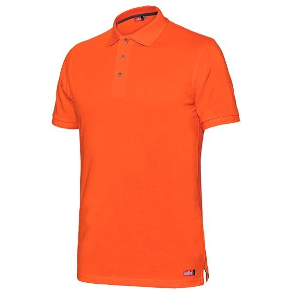 Polo manga corta Starter Capri naranja
