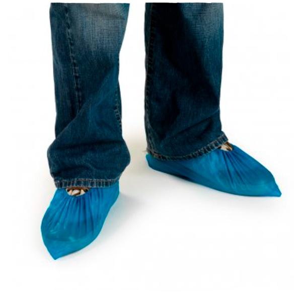 cubre zapatos de pvc Starter azul