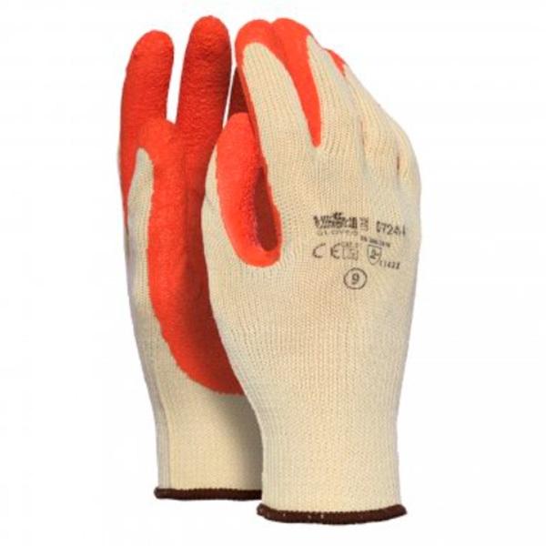 guante poliéster-algodón Starter naranja