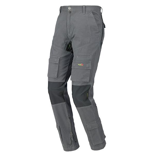 pantalon multibolsillos Starter Stretch ON gris