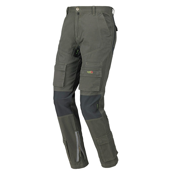 pantalon multibolsillos Starter Stretch ON fango
