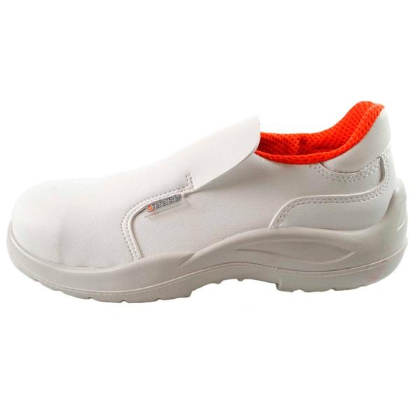 Zapatos de seguridad blancos BASE B0507 CLORO S2