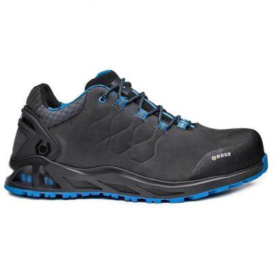 Zapato de seguridad  BASE B1000B K-ROAD S3 HRO CI SRC -BS Gris/Azul