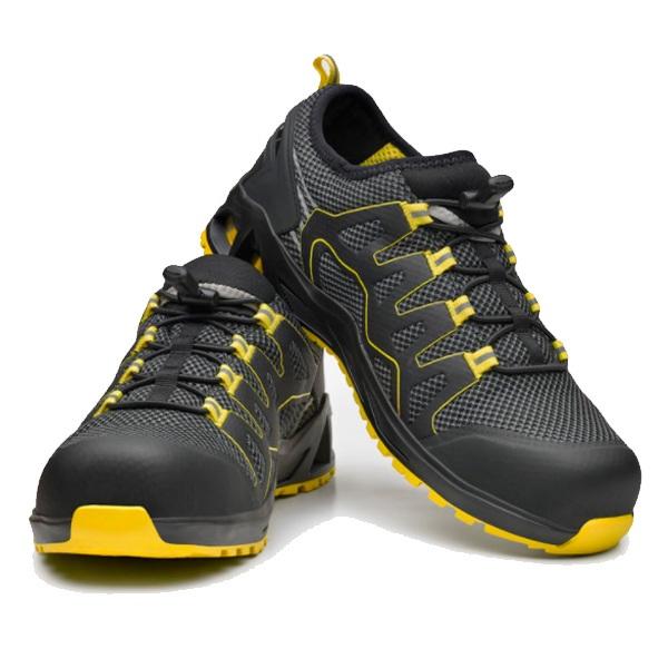 Zapato de seguridad  BASE B1006A K-BALANCE S1P HRO SRC -BS  Gris/Amarillo T36