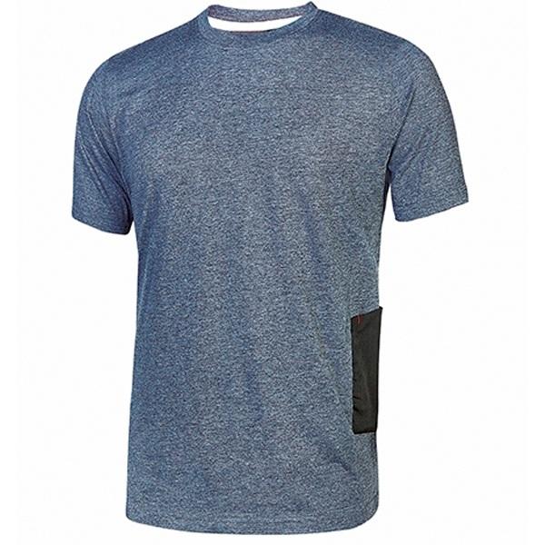 Camiseta U-Power Road Deep Blue