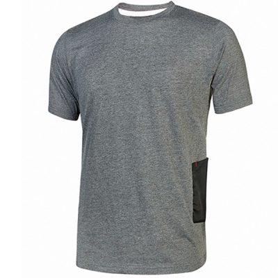 Camiseta U-Power Road Grey Meteorite