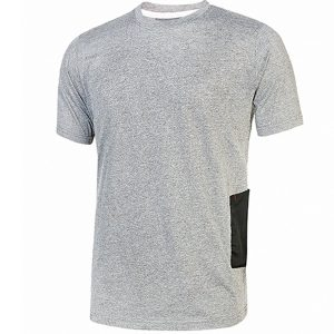 CAMISETA ROAD GREY SILVER