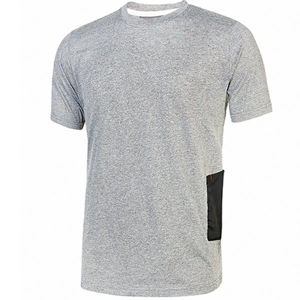 Camiseta U-Power Road Grey Silver