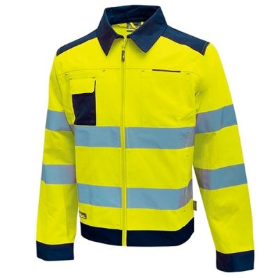 Chaqueta alta visibilidad U-Power Glare Yellow Fluo