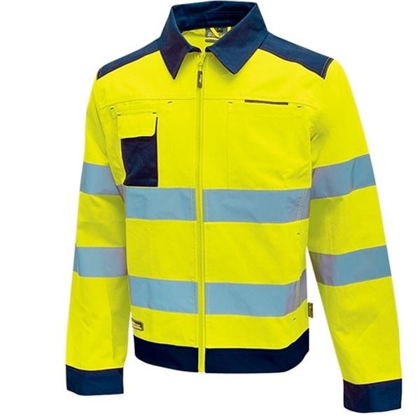 Chaqueta alta visibilidad U-Power Gleam Yellow Fluo