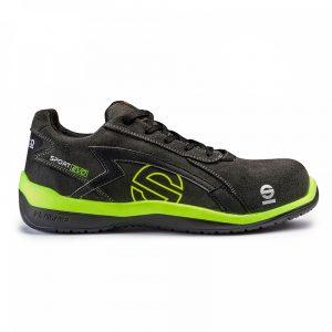 Calzado Sparco sport Evo S1P gris-amarillo