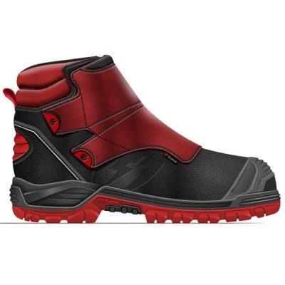 Calzado de seguridad Trueno Melt red