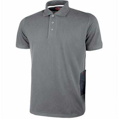 Camiseta U-Power Gap Grey Meteorite