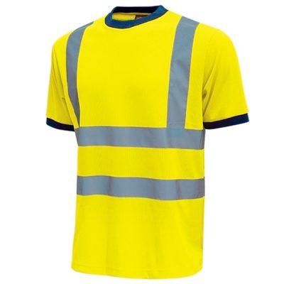 Camiseta de alta visibilidad U-Power Mist Yellow Fluo