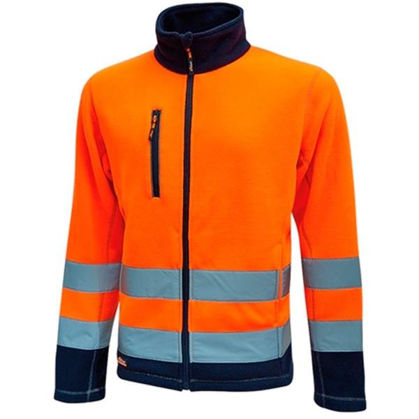 Chaqueta de alta visibilidad U-Power Hot Orange Fluo
