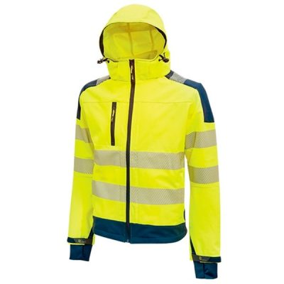 Chaqueta de alta visibilidad impermeable MIKY U-Power Miky Yellow Fluo