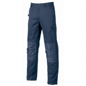 Pantalon U-Power Alfa Black Deep Blue
