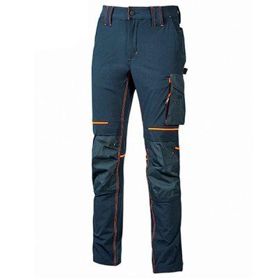 Pantalón de trabajo   U-Power Atom Asphalt Deep Blue