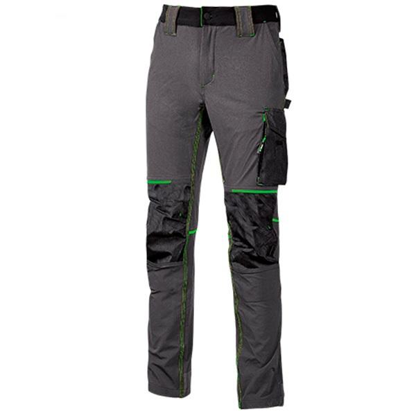 Pantalón de trabajo   U-Power Atom Asphalt Grey Green