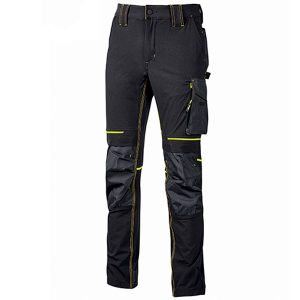Pantalón U-Power Atom Black Carbón