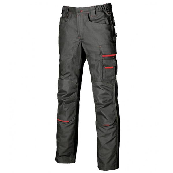 Pantalón de trabajo  U-Power Free Black carbon