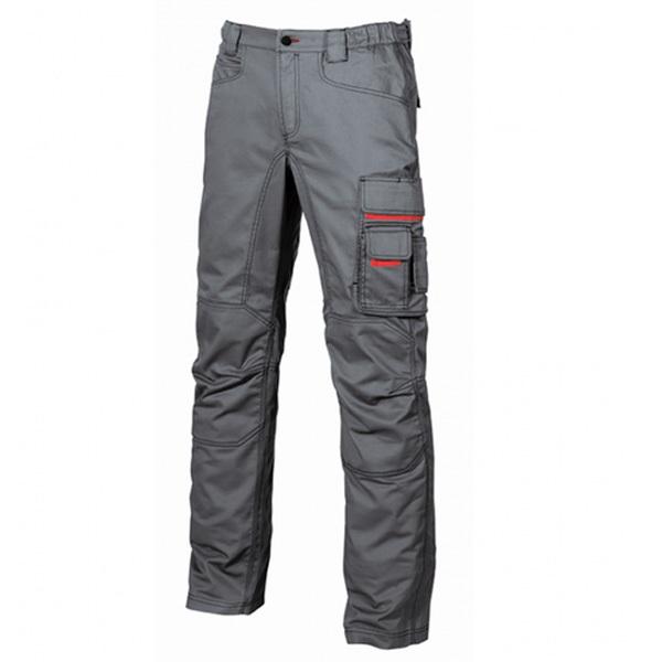 Pantalón de trabajo  U-Power Grin Grey Meteorite