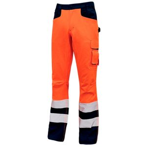 Pantalón U-Power Light Orange Fluo