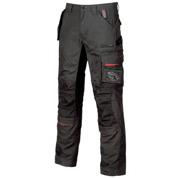 Pantalón de trabajo  U-Power Race Black Carbon