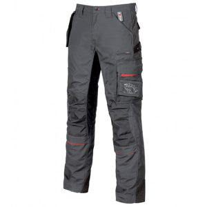 Pantalón U-Power Race Grey Meteorite