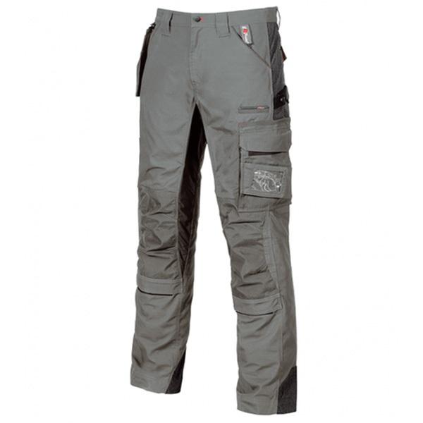 Pantalón de trabajo  U-Power Race Stone Grey