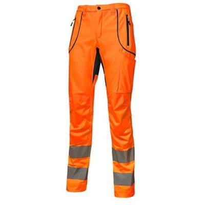 Pantalón U-Power Ren Orange Fluo