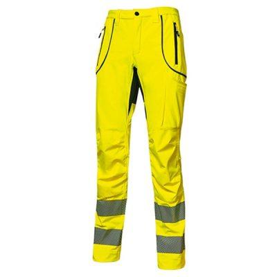 Pantalón U-Power Ren Yellow Fluo