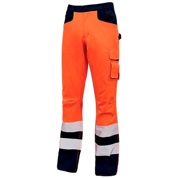 Pantalón alta visibilidad U-Power Beacon Orange Fluo