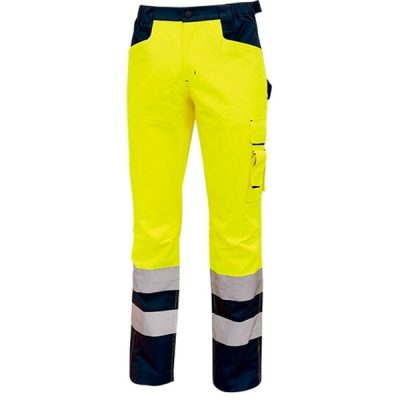 Pantalón alta visibilidad U-Power Beacon Yellow Fluo