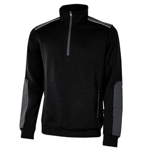 Sudadera U-Power Cushy Black Carbon