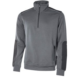Sudadera U-Power Cushy Grey Meteorite