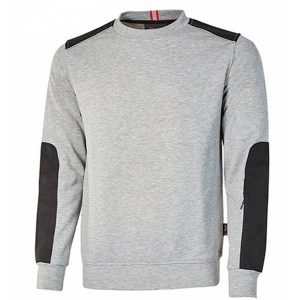Sudadera U-Power Dike Grey Silver