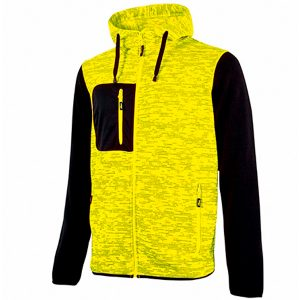 Sudadera U-Power Rainbow amarillo fluorSudadera U-Power Rainbow amarillo fluor