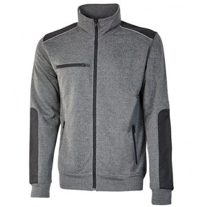 Sudadera U-Power Snug Grey Meteorite