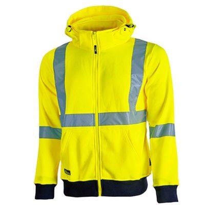 Sudadera de alta visibilidad U-Power Melody Yellow Fluo