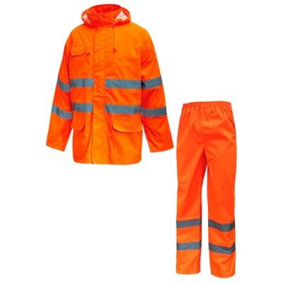 Trajes alta visibilidad U-Power Cover Orange Fluo