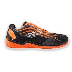 Zapatilla Sparco TOURING L S1P naranja-negro