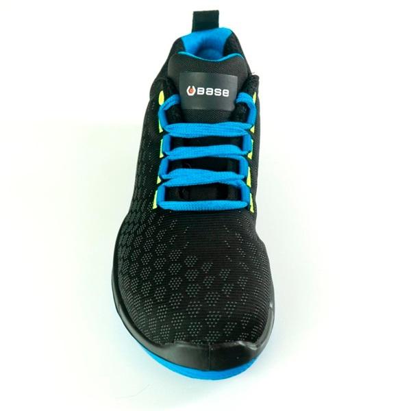 Zapatos de seguridad BASE B0677 MARATHON SRC NEGRO/AZUL
