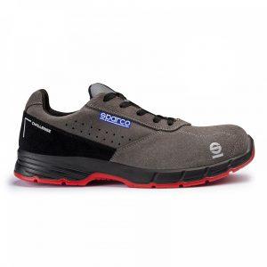 calzado de seguridad Sparco Challenge S1P gris-negro
