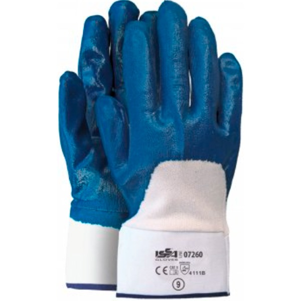 guante de algodón Starter NBR azul