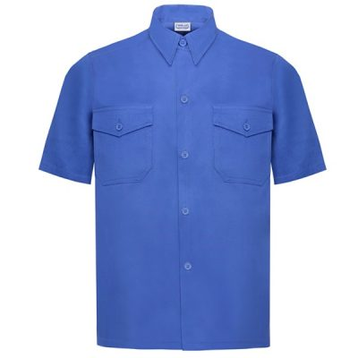 Camisa manga corta Vesin azulina A47-AZ
