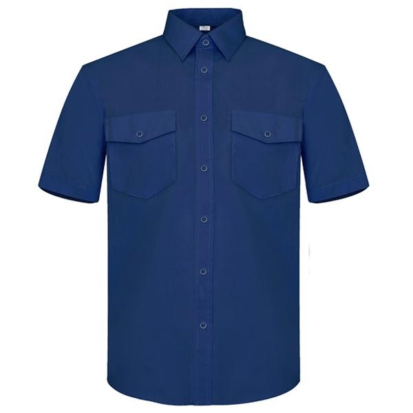 Camisa manga corta Vesin marino A47-AM