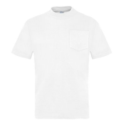 Camiseta manga corta con bolsillo Vesin pintor blanco